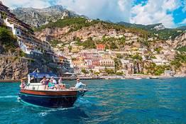 Giornata in barca a Capri e Positano