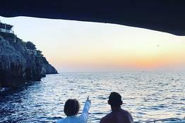 Tour in barca di Capri al tramonto
