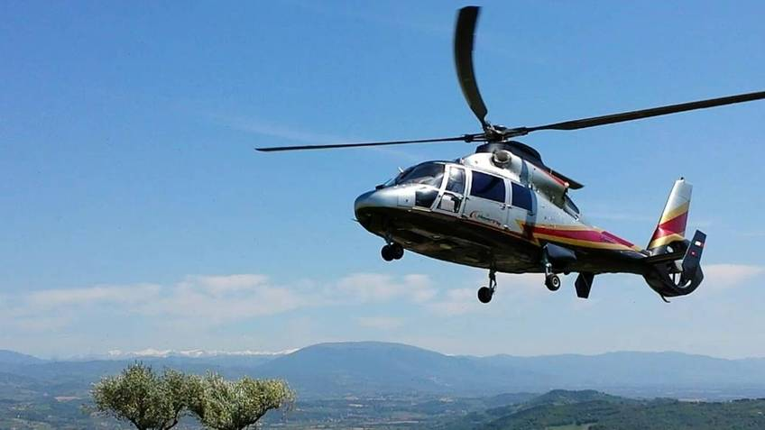 Agency Trial Travel - One way transfer Rome-Capri by helicopter & vice versa
