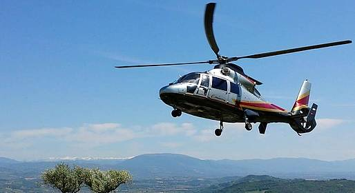 Agency Trial Travel - Rome - Capri Helicopter Transfer (& vice versa)