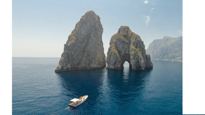 Gianni's Boat - Special November: Faraglioni and the White Grotto