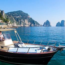 Capri Blue Boats - Full Day tour of the island with skipper