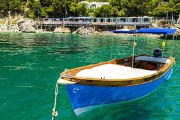 Capri Blue Boats - Aluguel de Lancia Caprese em Marina Piccola