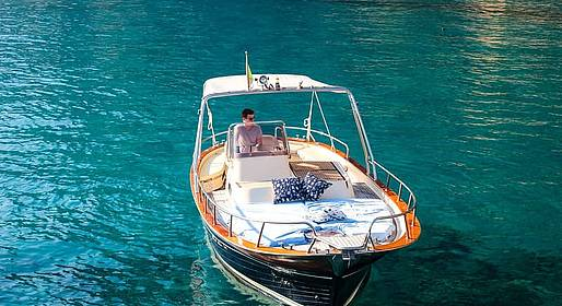 Capri Blue Boats - Sunset Cocktail Sail around Capri