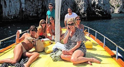 Gianni's Boat - Full day GROUP TOUR to Capri from Sorrento LOW SEASON