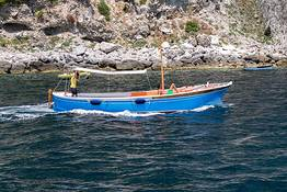 "Capri Blue Boats - Full day along the Amalfi Coast in a ""gozzo"""