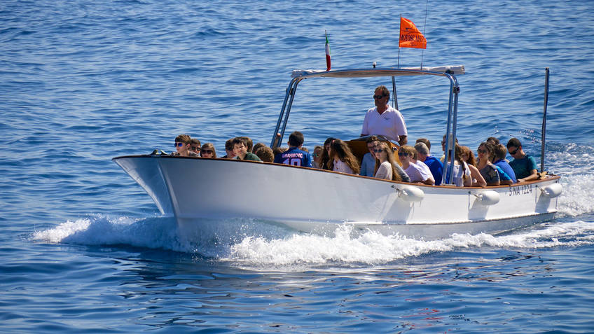 Motoscafisti di Capri - Giro dell'Isola + Grotta Azzurra - Yellow Line