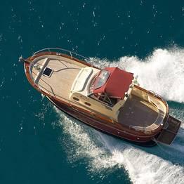 Tour de barco para a Costa Amalfitana