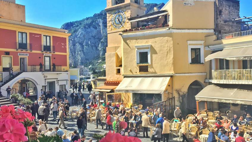 Nesea Cultural Events - The Heart of Capri: Tour of the Historic Center