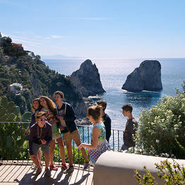 From the sea to the mountains: Capri and Anacapri