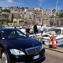 Car + speedboat + taxi from Naples to Capri | VIP