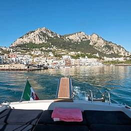 Taxi + speedboat + car from Capri to Naples | VIP