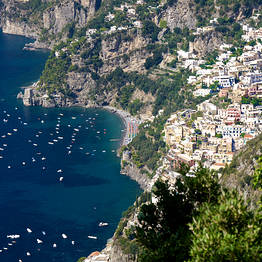 Exclusive transfer Rome - Positano or vice versa