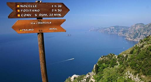 Astarita Car Service - Path of Gods Transfer to and from Sorrento/Positano