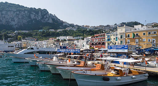 Capri Day Tour - Capri, pacchetto basic per tour fai da te