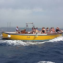 Small-Group Capri Boat Tour w/Swim