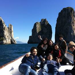 Capri Island group boat tour