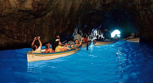 Motoscafisti di Capri - Trasporto alla Grotta Azzurra e ritorno - Blue Line