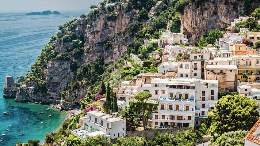 Tecnomar Boat Tour - Escursione da Capri in Costiera Amalfitana in gozzo