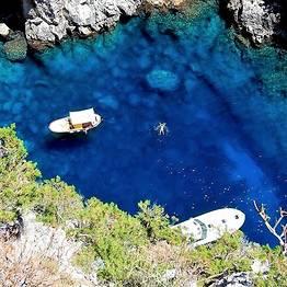 """Intera giornata a Capri in motoscafo """"Itama 38"""" (12 mt)"""