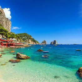 Tour privato Capri e Anacapri + Faraglioni