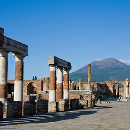 Tour Pompei e Vesuvio da Positano su un bus GT
