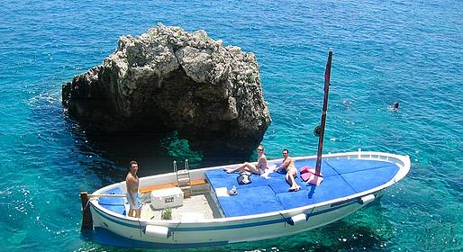 Gianni's Boat - Capro tour by boat & Prosecco