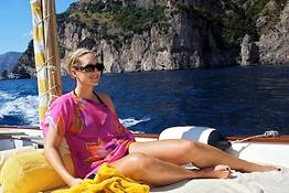 Capri Relax Boats - Capri and the Amalfi Coast by gozzo boat (7.80 mt)