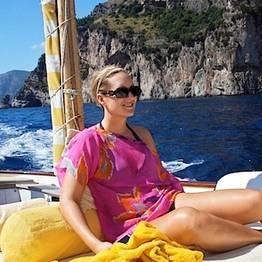 Capri e a Costa de Amalfi em barco gozzo (7,80 mt)