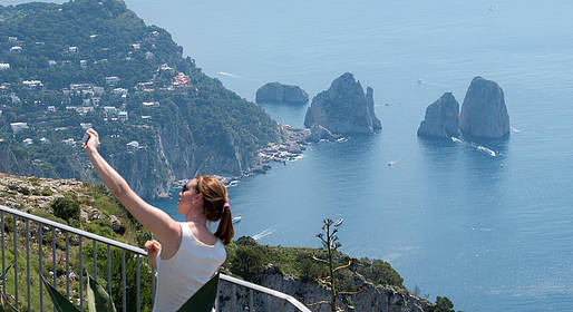 Capri Official Guides - Group guided Hike to Mount Solaro - thursday
