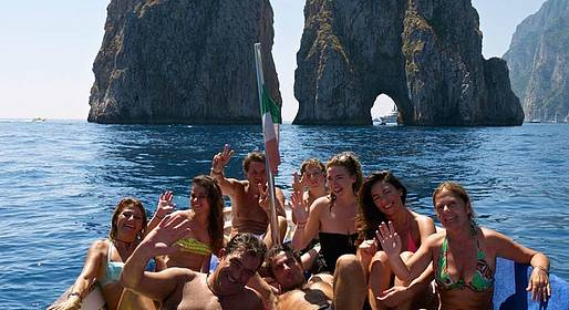 Ciro Capri Boats - SPECIAL SPRING OFFER - Tour of Capri