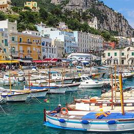 Gianni's Boat - FULL DAY PRIVATE TOUR to CAPRI from Sorrento 7 hours
