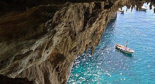 Gianni's Boat - FULL DAY PRIVATE TOUR to CAPRI from Sorrento 6/7 hours