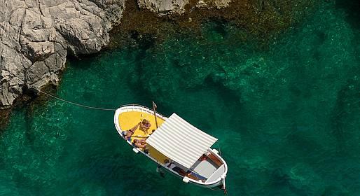 Amalfi & Positano Boat Tours - Tour privato di mezza giornata da Sorrento a Capri