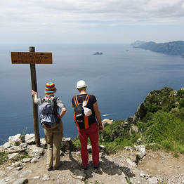 Cartotrekking - tour path of the ,gods from sorrento