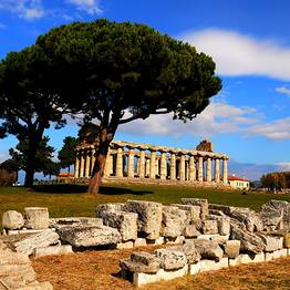 Sunland Travel - Tour Paestum&Mozzarella Farm dalla Costiera su bus GT