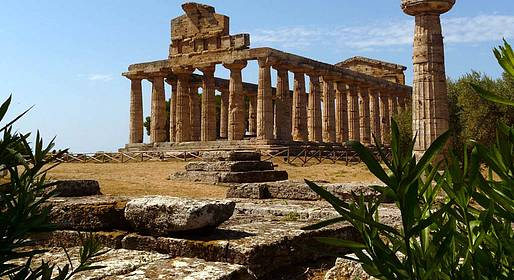 Sunland Travel - Paestum & Mozzarella Farm Bus Tour from Amalfi Coast