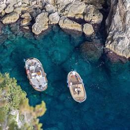 Una giornata meravigliosa sul mare di Capri