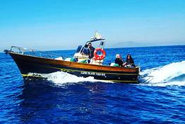 Capri Island Tour - Water taxi Capri - Amalfi Coast (Round Trip)
