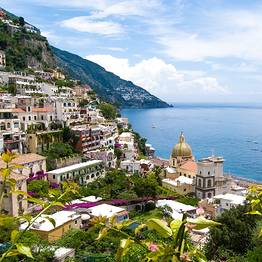 Transfer from Rome to Positano by Luxury Car