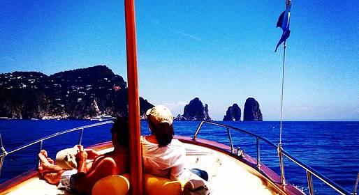 Capri Boat Service - Private Boat Tour of Capri by Traditional Gozzo