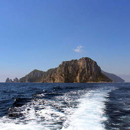 Full Day off Capri by Dinghy 40 cv