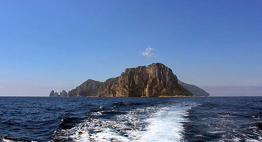 Capri Boat Service - Dia inteiro de bote em Capri 40 cv