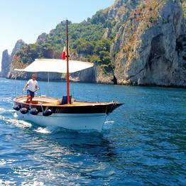 Taxi Boat Service from Capri to the AmalfiCoast ONE WAY