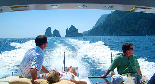 Capri Boat Service - Private Boat Tour of Capri by Speedboat