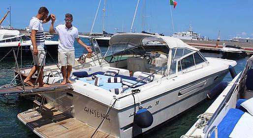 Capri Boat Service - Luxury Transfer by Speedboat between Capri and Amalfi