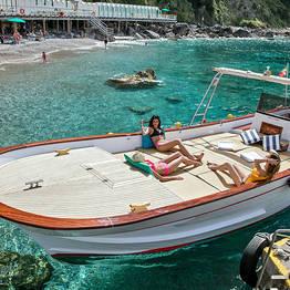 Bagni di Tiberio - Capri de barco: 4 ou 7 horas de mar, sol e diversão