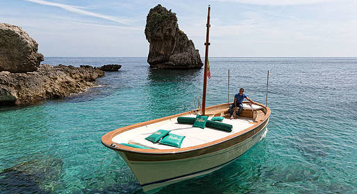 Bagni di Tiberio - The Amalfi Coast by Boat