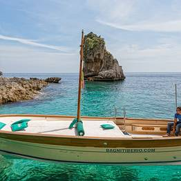 Bagni Tiberio Boats - Boat Transfer for a Seaside Dinner in Nerano
