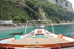 Bagni Tiberio Boats - Jantar em Nerano à beira mar